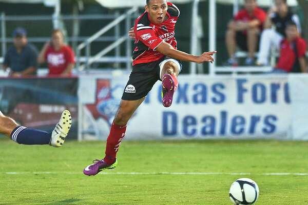 Laredoan Felix Garcia played for the USA U20 men's national team back in 2008.
