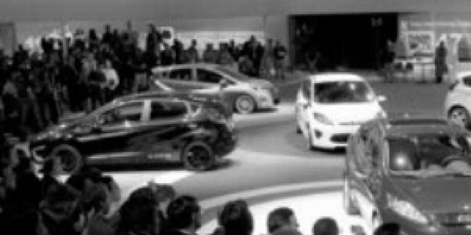 Ford Fiestas for 2011 debut at the Los Angeles Auto Show. They're set to appear at dealerships by summer.
