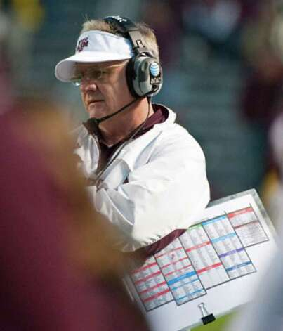 With a bowl-game win, coach Mike Sherman will have led the Aggies to a winning record a season after going 4-8.