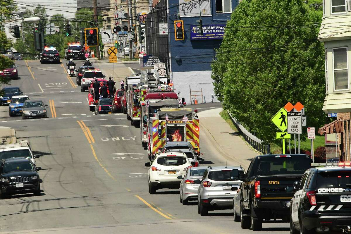 The state Vehicle and Traffic Law doesn't have much to say about rules directing funeral processions.