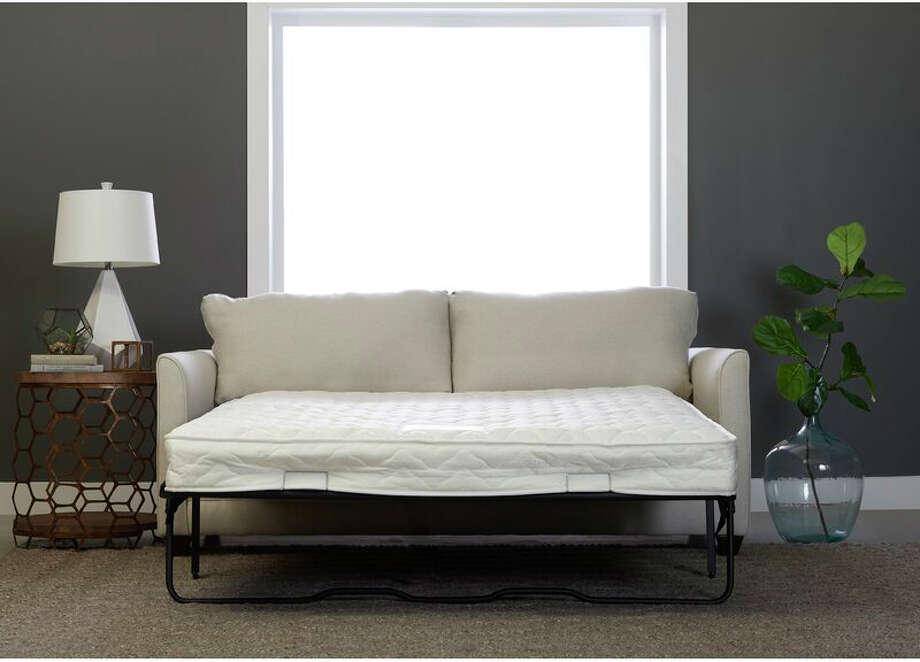 The Sarah Sofa Bed is a surprise hit on Wayfair. Photo: Wayfair