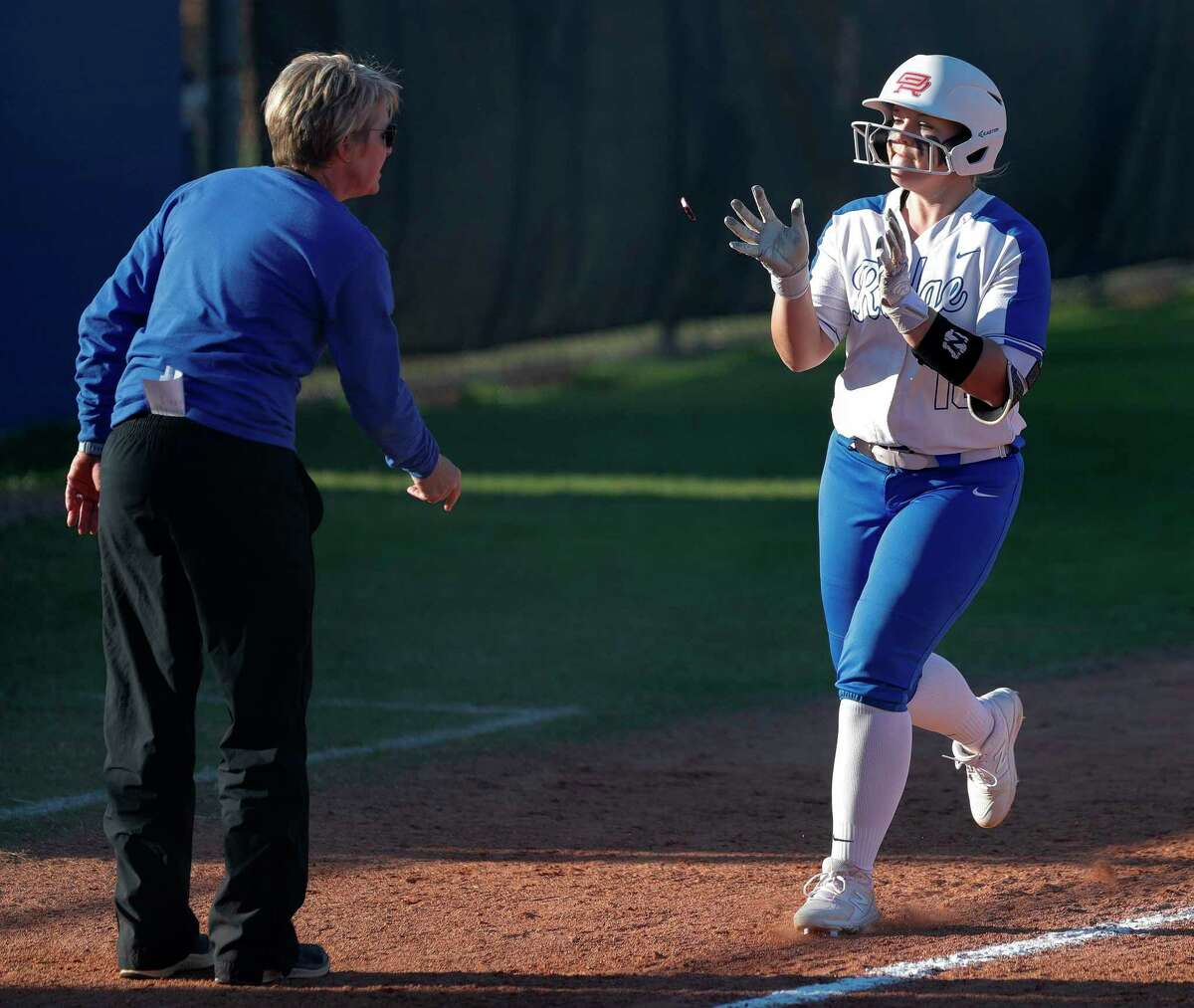 Oak Ridge head coach Stephani Rougeau had eight of her players named to all-district teams, including a first-team selection for Kennedy Reynolds, after the Lady War Eagles finished the season ranked No. 1 in Class 6A.