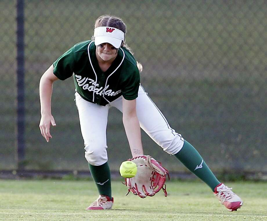 The Woodlands' Kayla Falterman is one of the top returning players in Montgomery County this season. Photo: Michael Wyke, Houston Chronicle / Contributor / © 2019 Houston Chronicle