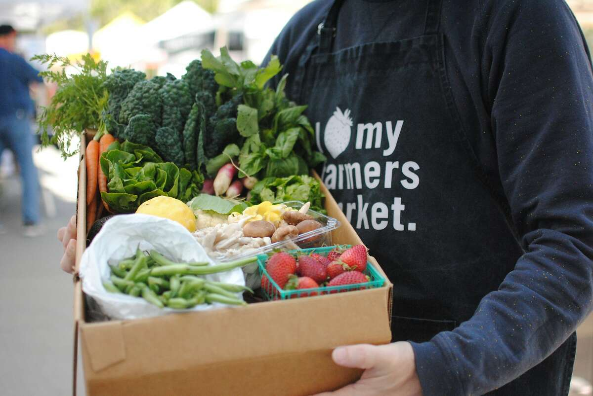 CUESA, the nonprofit behind San Francisco's Ferry Plaza Farmers Market, has begun offering farm boxes for easy curbside pickup during shelter-in-place.
