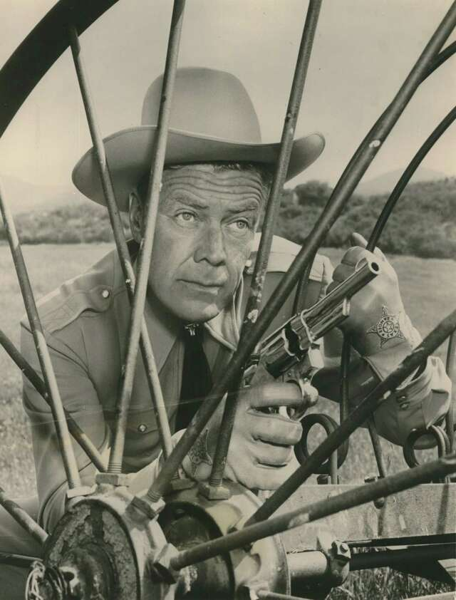"Willard Parker starred in TV series ""Tales of the Texas Rangers,"" one of many Hollywood depictions of the legendary lawmen."