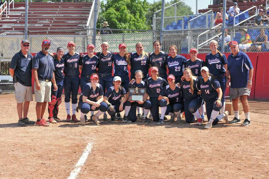 The Stratford Brakettes capture The Women's Major Fast Pitch National Championship against the Lyon (PA) Spirit played on Sunday August 4, 2019 at Deluca Hall of Fame field in Stratford, CT. Photo: Gregory Vasil / For Hearst Connecticut Media / Connecticut Post Freelance