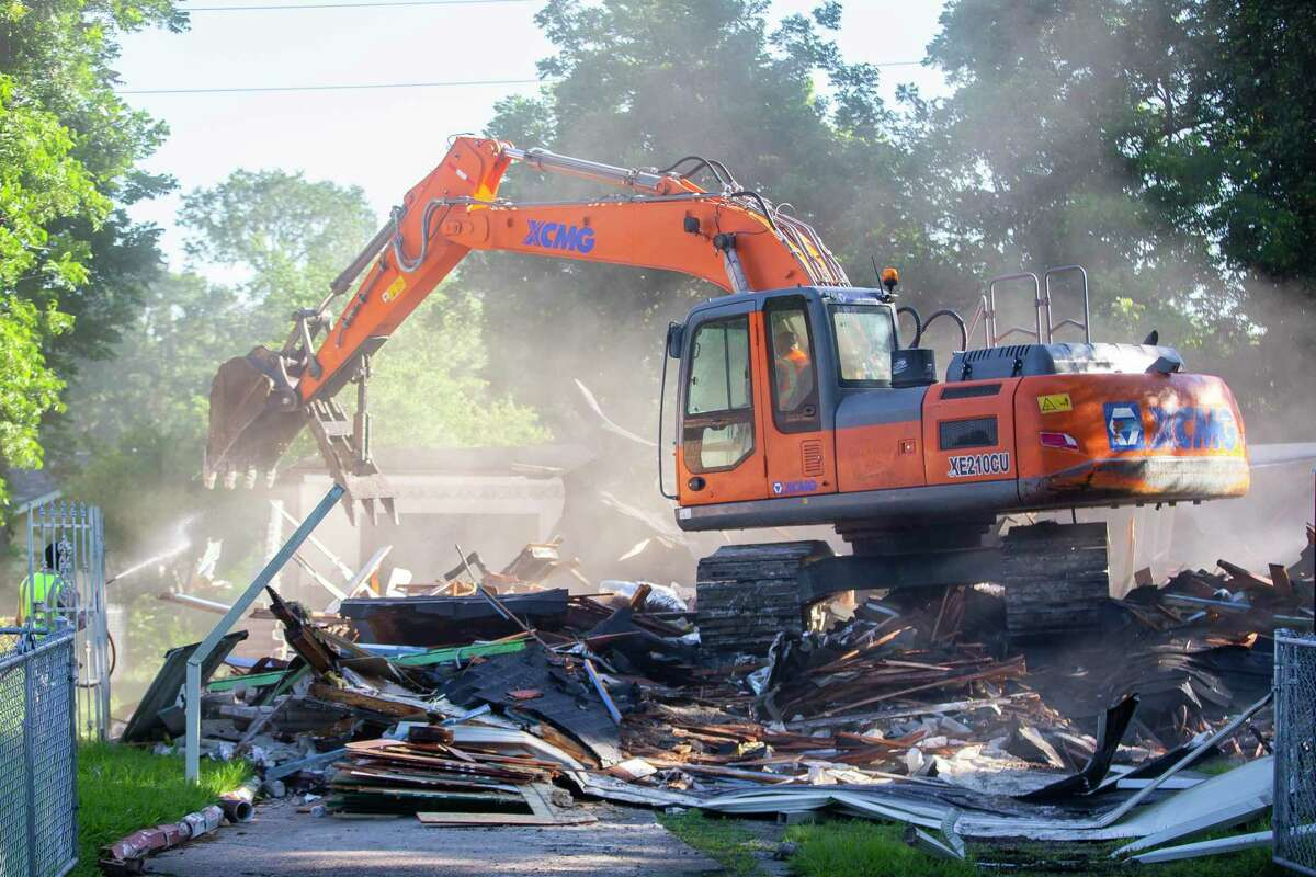Annie Green's home flooded during Hurricane Harvey, and she has spent the past two years trying to find help rebuilding.