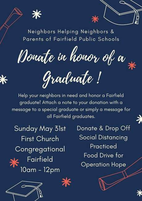 Fairfield residents are hosting the 11th food drive in as many weeks on Sunday, May 31. Photo: / Alexis Harrison