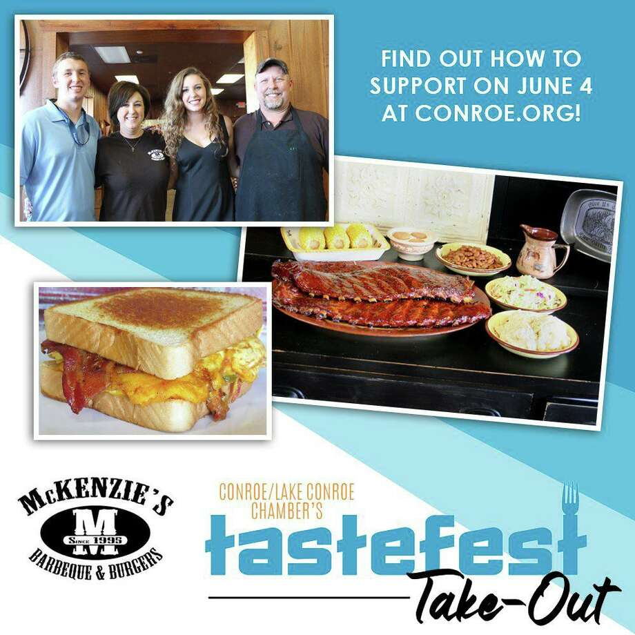 The Conroe Lake Conroe Chamber of Commerce has launched Tastefest Take-out 2020 in place of an in-person event that would have been scheduled for June 4. Instead check out the Chamber's Facebook page as they feature local restaurants and caterers that would have been at the June 4 event. Photo: Photo Courtesy The Conroe Lake Conroe Chamber Of Commerce
