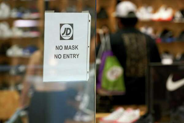 A reader urges all businesses to post a sign like this one at the Galleria Dallas mall.