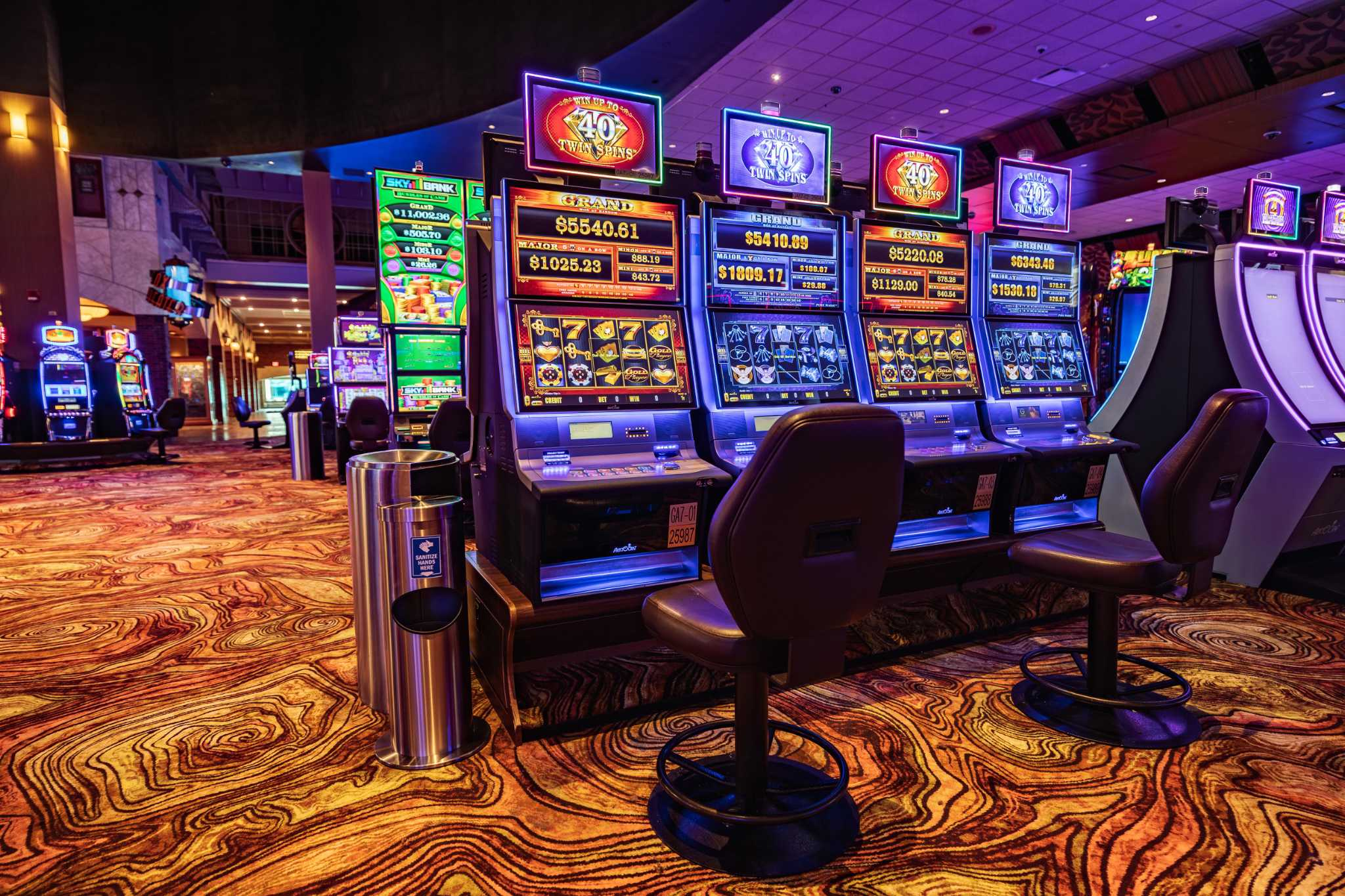 In photos: Inside Connecticut's casinos after reopening