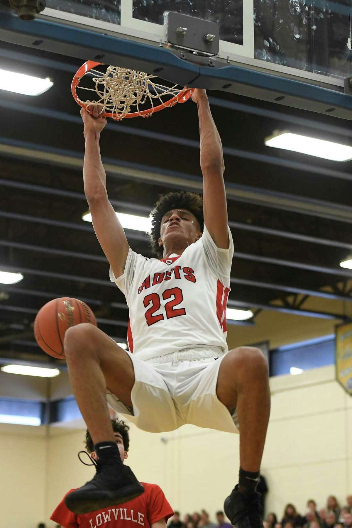 Albany Academy's Andre Jackson, now at UConn, has the potential to be a freshman star.