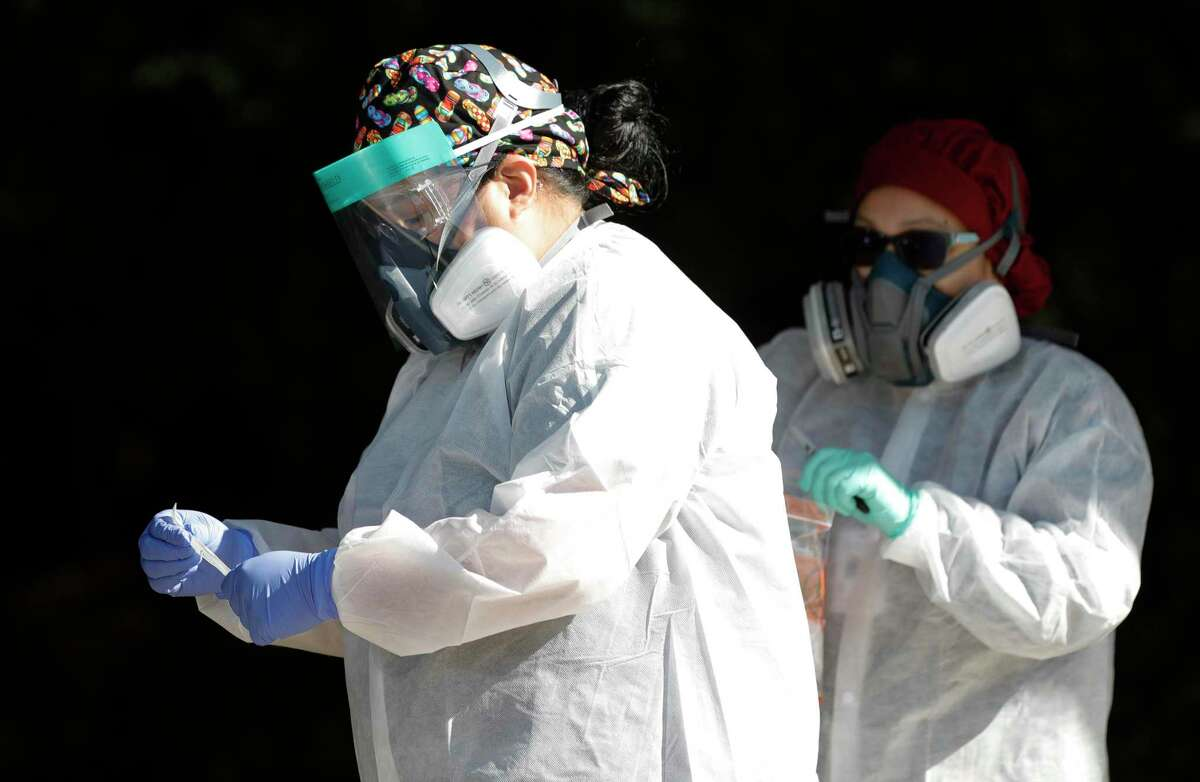 As the number of people hospitalized due to COVID-19 dropped to its lowest Wednesday, health officials confirmed the county's 32nd death from the virus and 40 additional cases.