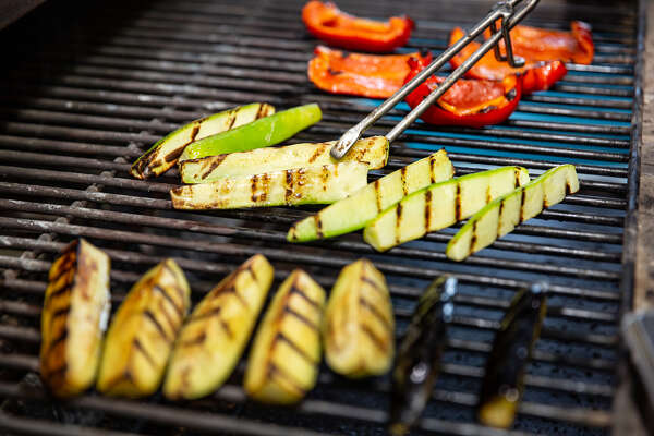 Now is a good time (it is always a good time) to eat more plants. And they're perfect for the grill. (Dreamstime/TNS)