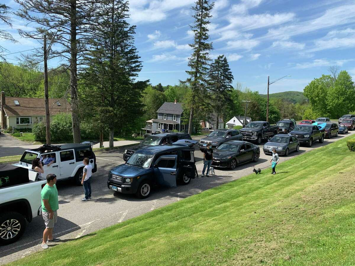 Ruthann Horvay, who retired from the Winchester Public Schools this year, was honored with a car parade May 23.