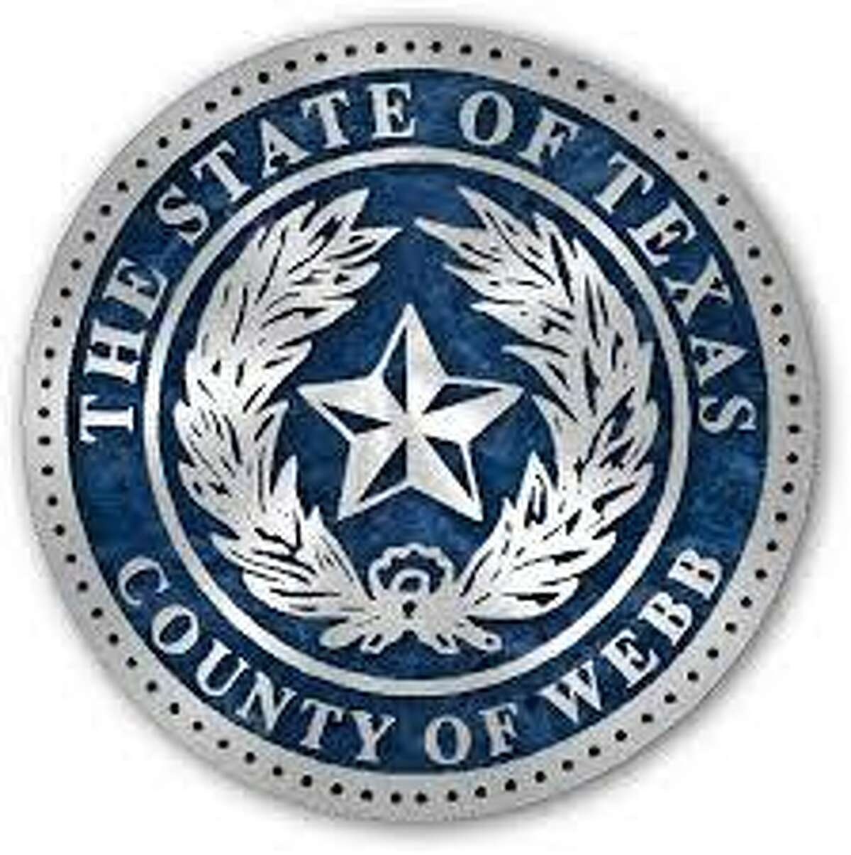 The official Webb County seal is shown.