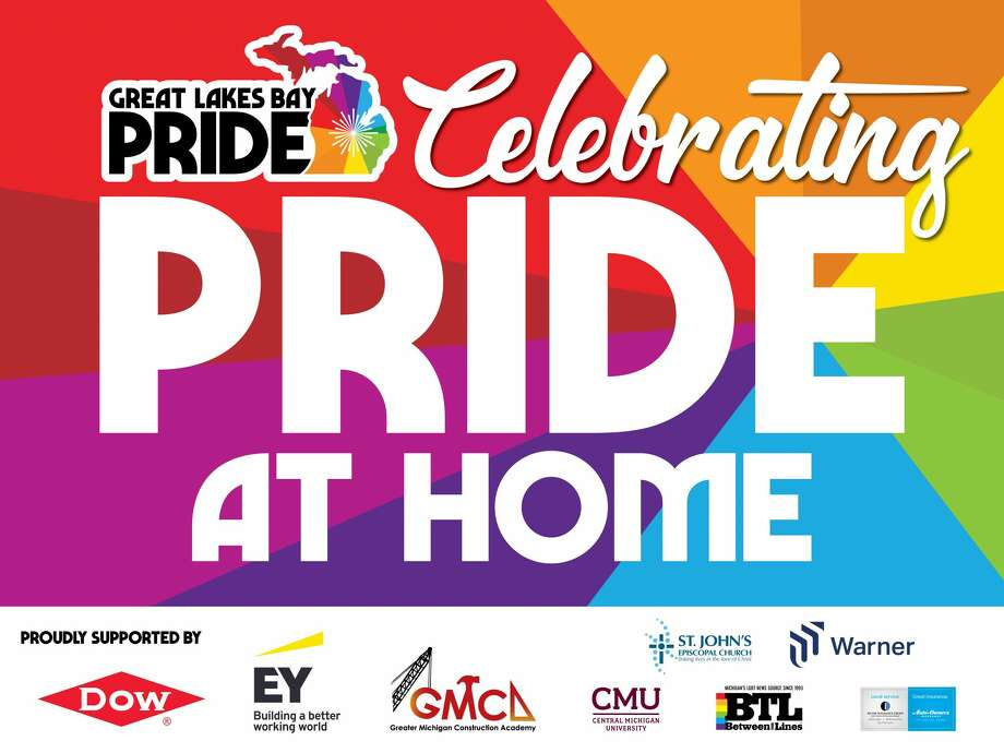 """The Great Lakes Bay PRIDE planning team has announced a """"Celebrating Pride at Home,"""" event in lieu of a 2020 Pride Month Festival. Photo: Great Lakes Bay Pride"""