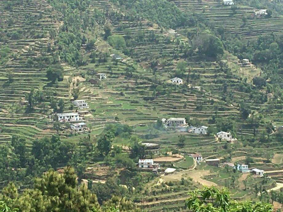 A view of terraced farms in Uttarakhand Photo: Contributed Photo / Connecticut Post