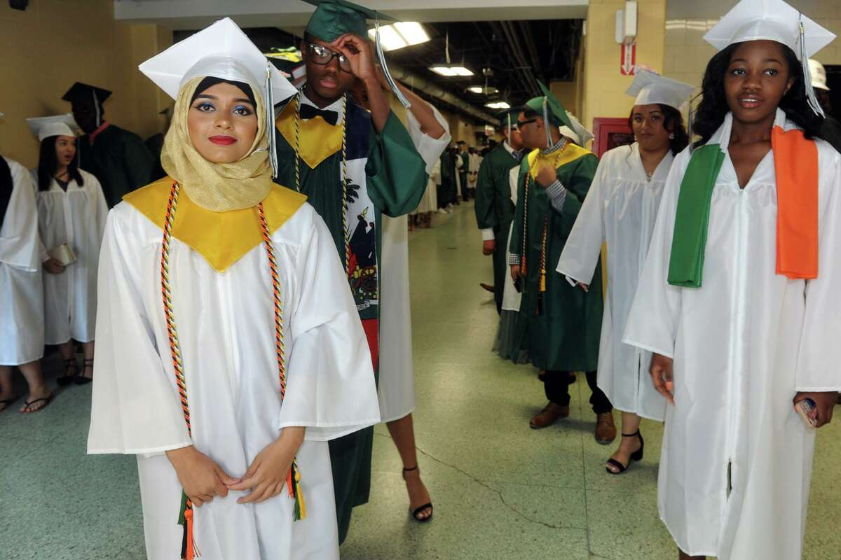 Graduation for the Bassick High School Class of 2018 was held at Kennedy Stadium in Bridgeport on June 22, 2018. This year's graduation will take place June 18 from 8:30 to 11:30 a. m.
