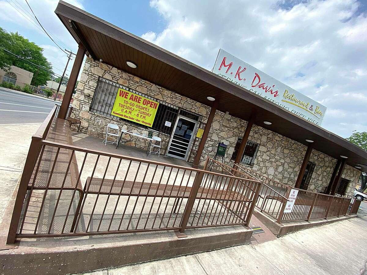 M.K. Davis Restaurant in San Antonio is known for fried chicken, chicken-fried steak and frozen schooners of beer.