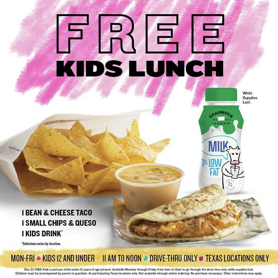 Taco Cabana is offering free lunches for kids until the end of the summer. Photo: Courtesy: Taco Cabana