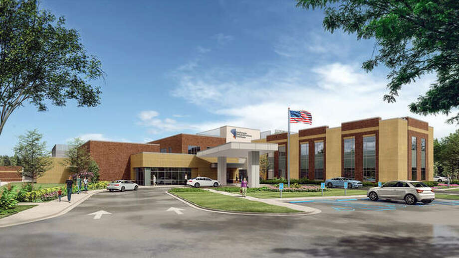 A rendering of the planned acute rehabilitation institute that recently began construction in Edwardsville. It is expected to be completed in the spring of 2021. Photo: Courtesy Of Kindred, Anderson Healthcare