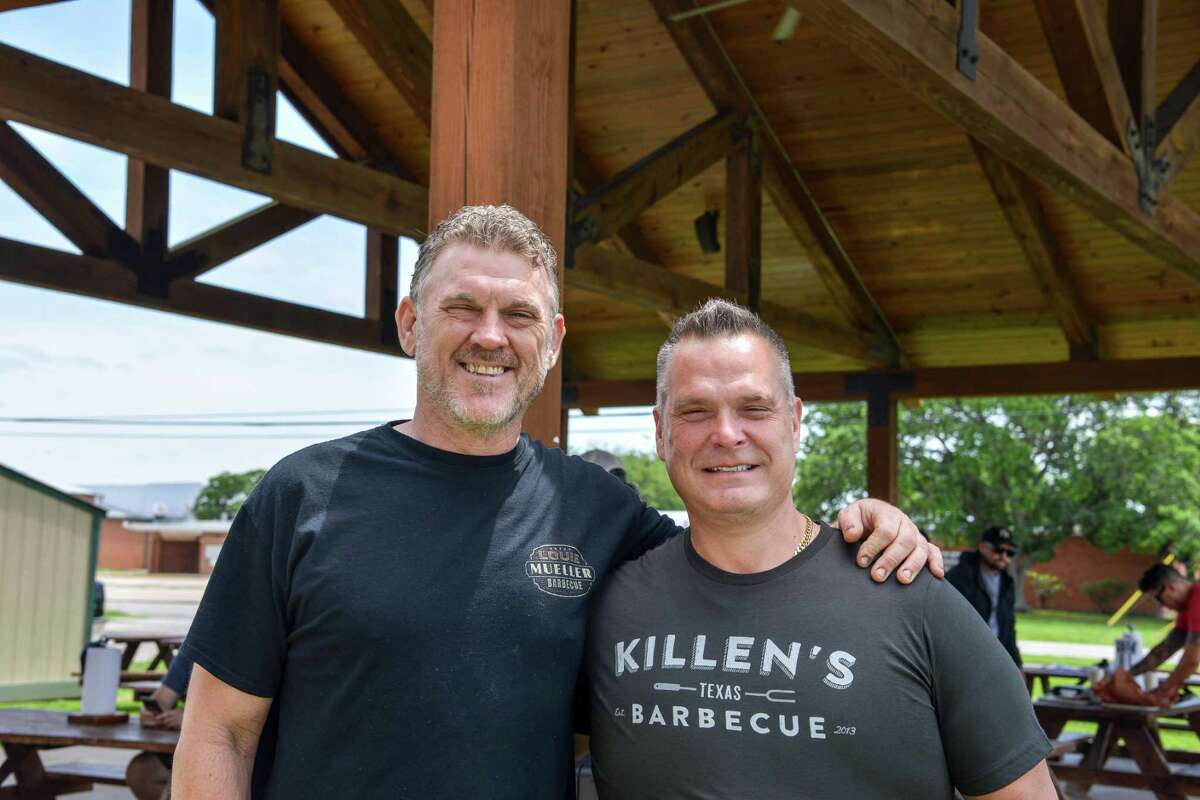 Wayne Mueller, left, and Ronnie Killen