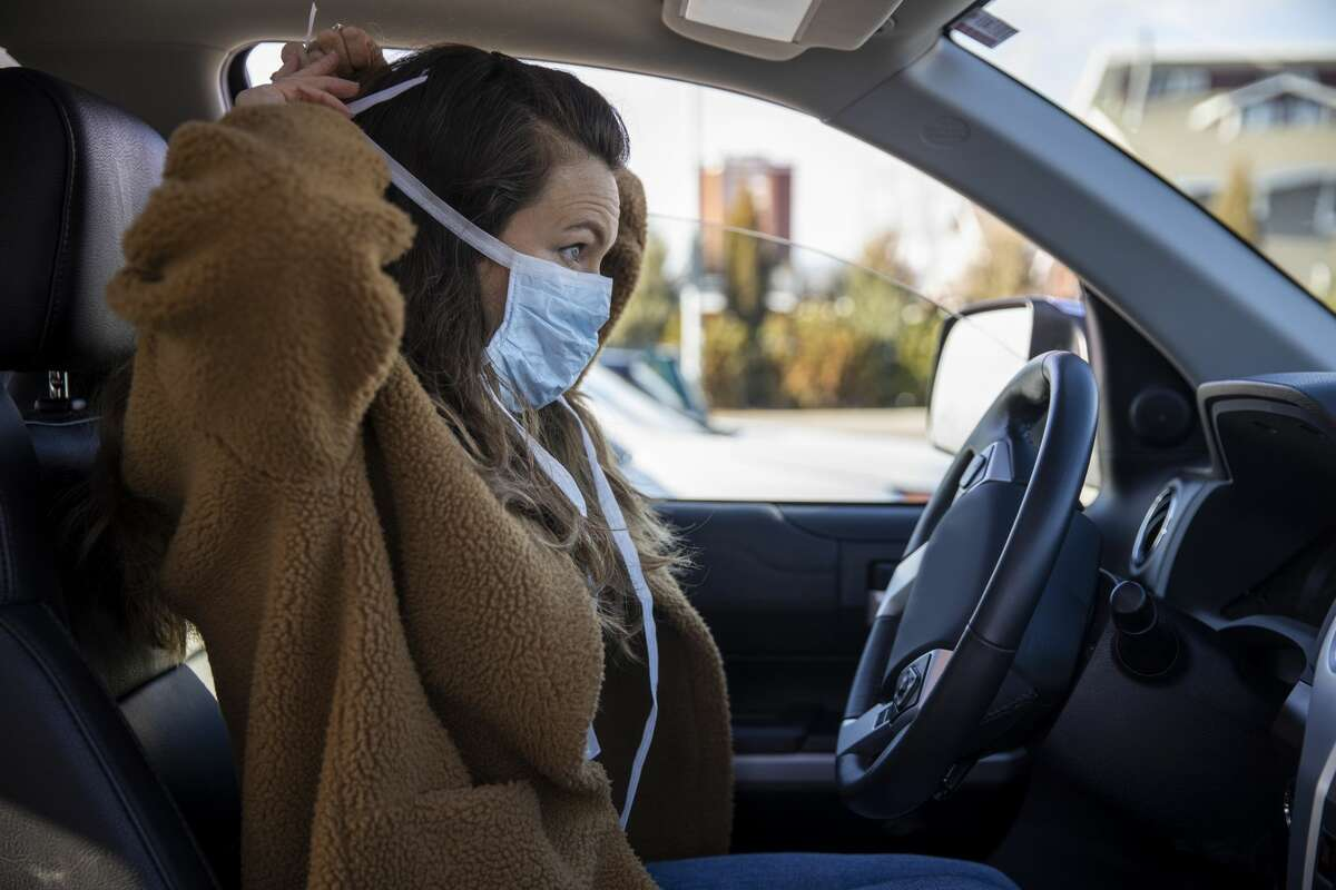 You don't need to wear a mask in your own car, however, if no one outside your home will be riding in it with you.