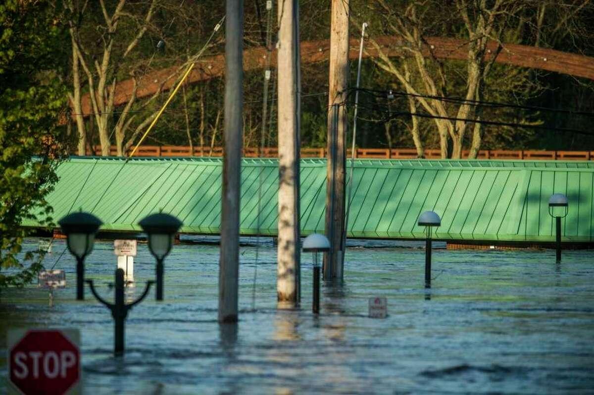 Midlandflood damage onWednesday,May 20, 2020. (Katy Kildee/Huron Daily Tribune)