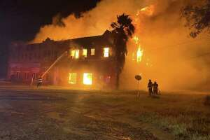Palm Suite and Inn caught fire early Monday, resulting in a complete loss. The cause of the fire remains under investigation.