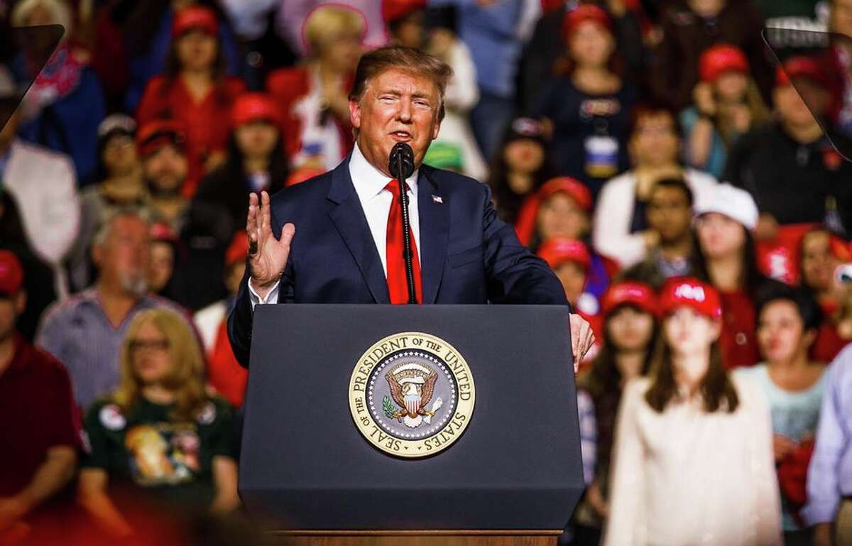 President Donald Trump is scheduled to hold his first campaign rally since the novel coronavirus brought much of public life to a standstill in March.