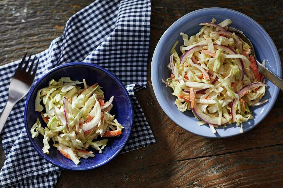 New Classic Cole Slaw. Photo: Photo By Tom McCorkle For The Washington Post. / For The Washington Post