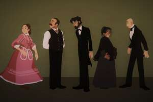 """A Doll's House"" character lineup by Aedean Kern (New Visions / Questar III BOCES)"