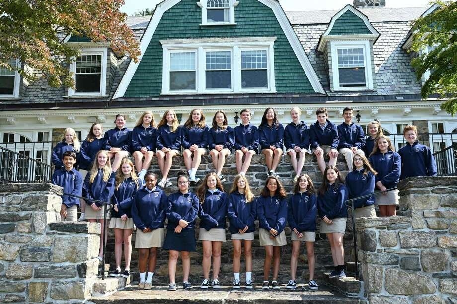 Ridgefield Academy class of 2020 students. Photo: Contributed Photo