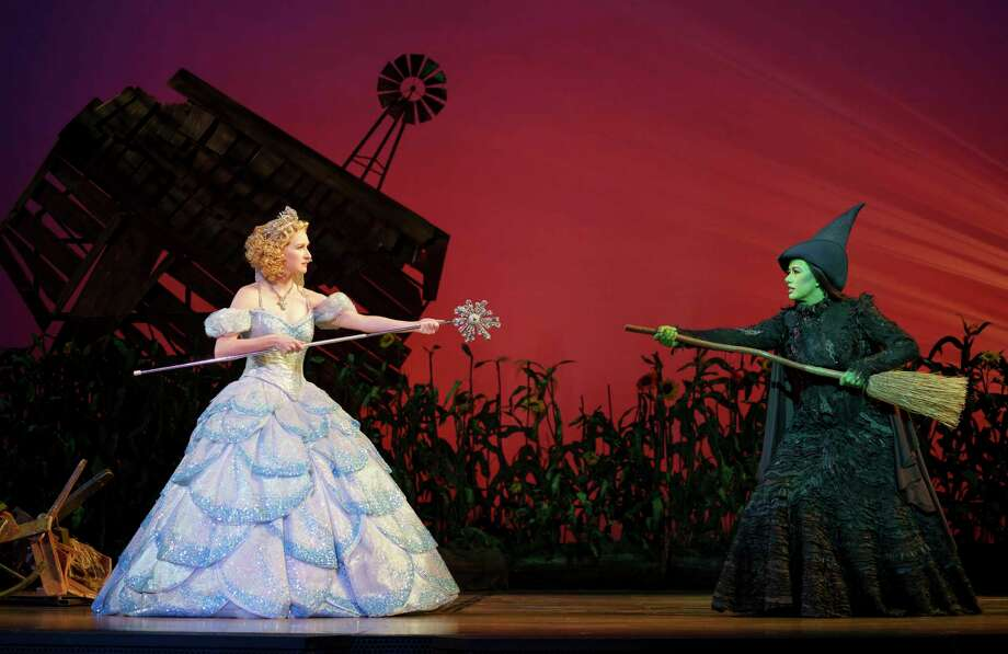 "A touring version of ""Wicked,"" which won't be at the Bushnell anytime soon; its September run was canceled. Photo: Joan Marcus / Hearst Connecticut Media File / ©2019 Joan Marcus"