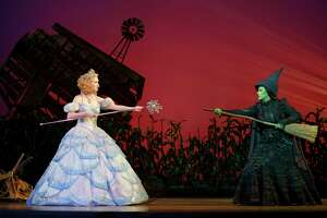 """A touring version of """"Wicked,"""" which won't be at the Bushnell anytime soon; its September run was canceled."""