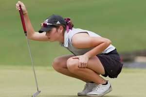 Halle Whitney was one of several local golfers to earn all-state and all-area recognition.