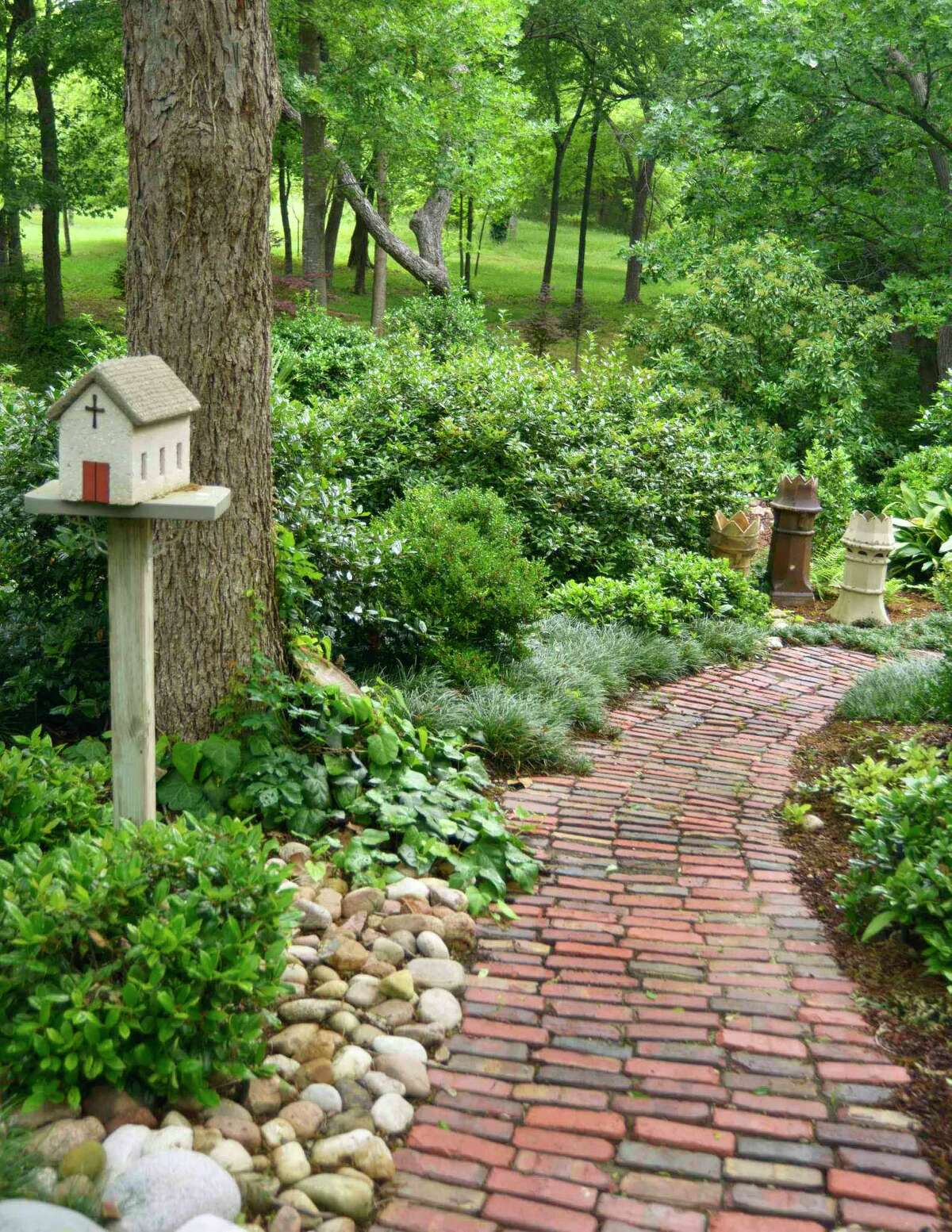 Mulches allow free passage of air and water in and out of the soil.