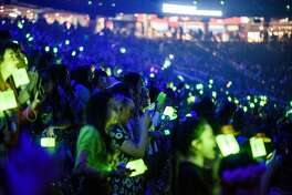 Fans at NRG Stadium in Houston, TX to see NCT 127 Perfom at Rodeo Houston on Tuesday, March 10, 2020
