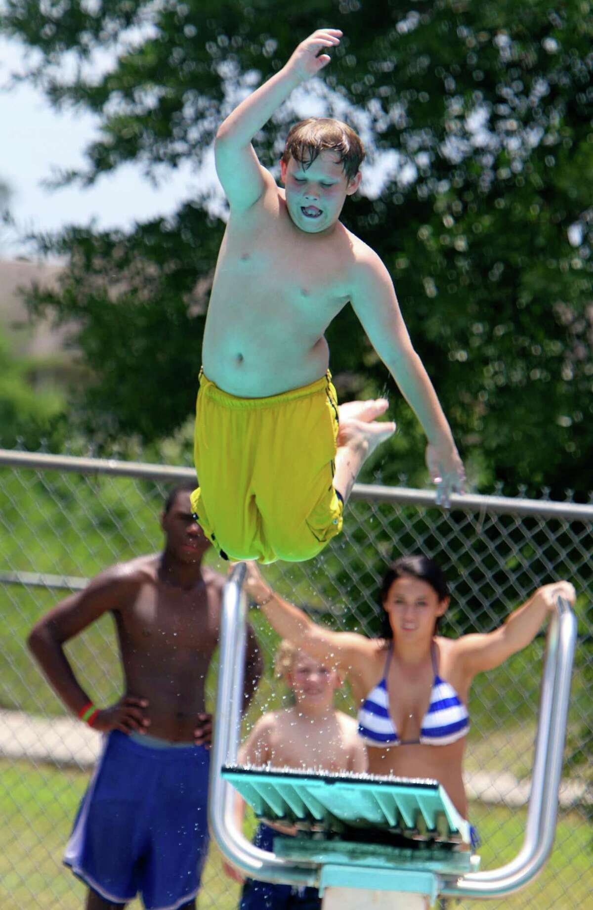 The seven pools that will reopen on June 6 are: Alden Bridge, Sawmill, Forestgate, Bear Branch, Wendtwoods, Harper's Landing and Creekwood. The fee structure for the 2020 season only is as follows: resident day pass costs were reduced from $6 to $5; the non-resident day pass cost was decreased from $12 to $10; and season pass rates were kept at the normal $40 for residents and $120 for non-residents.