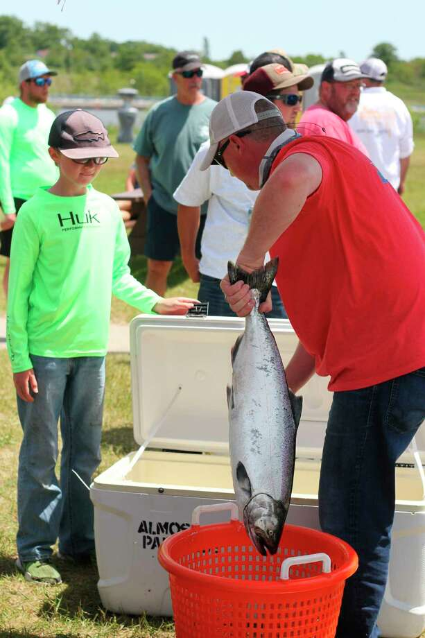 Three of the four Tournament Trail fishing tournaments in Manistee County are expected to remain on the schedule, while the future of the Onekama Fishing Tournament is still unclear. (News Advocate file photo)