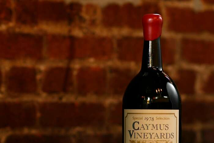 Caymus Vineyards' Cabernet Sauvignon, pictured here in its 1978 vintage, is one of Napa Valley's most recognizable wines. Craig Lee / The Chronicle