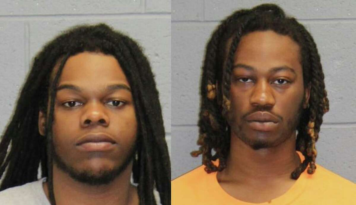 Nasir Omari Blow, 22, of Hayes Street in Bridgeport; and Jacarri Pettway, 20, of Sylvan Street in Bridgeport, Conn., were each charged with a variety of offenses linked to their alleged involvement in a home invasion at gunpoint in Naugatuck on May 25, 2020.