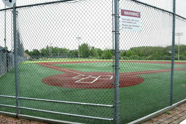 The ball fields at the Connecticut Sportsplex in North Branford photographed on May 28, 2020.