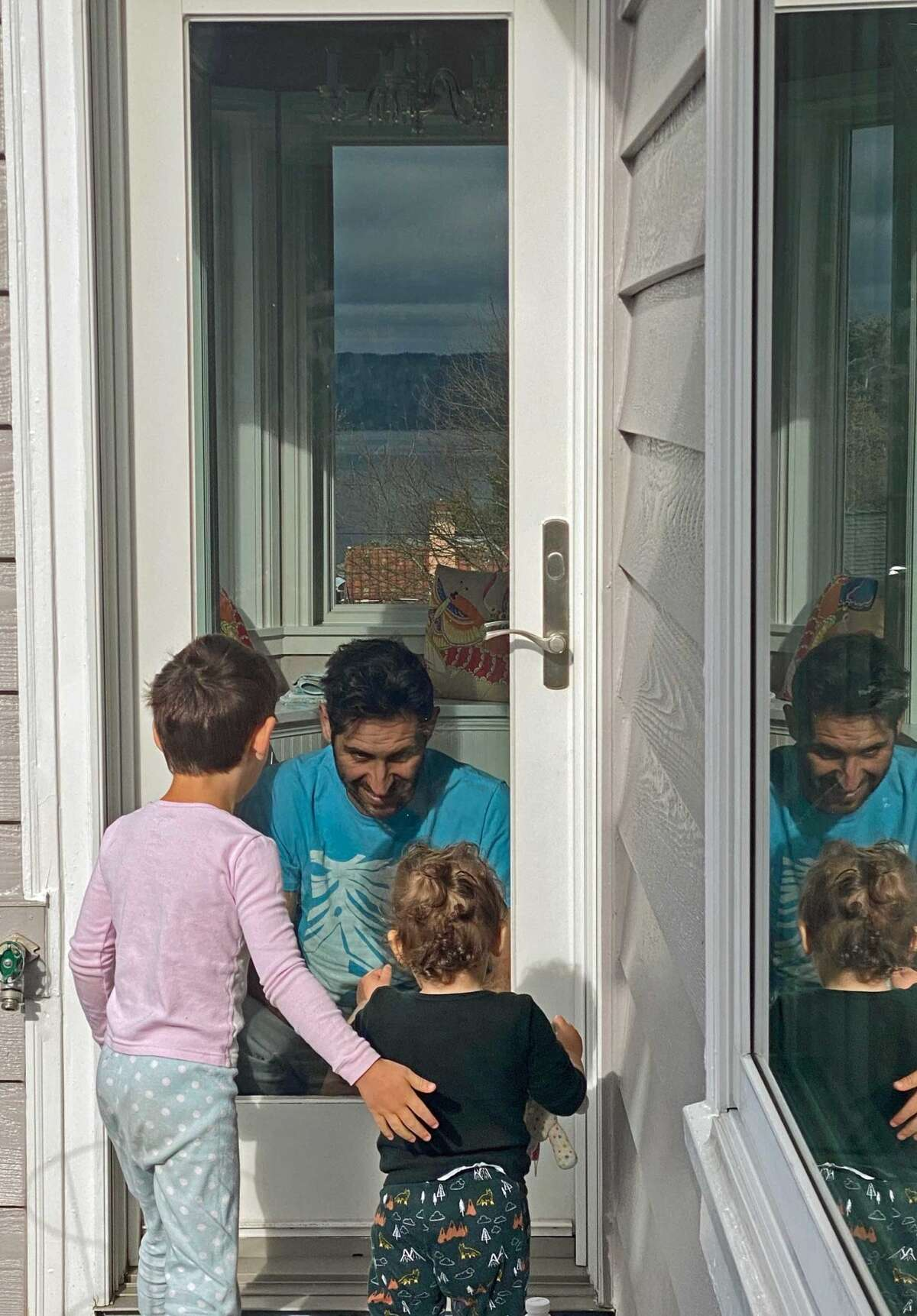 Eliav Cohen says hello to his children from afar as he recovers from the novel coronavirus.