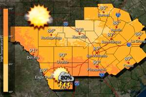 After several days of rough weather, San Antonio will have some clear skies for the weekend, according to the National Weather Service.