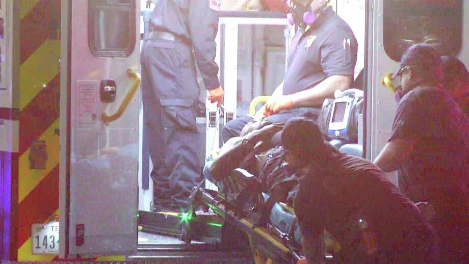 A man was hospitalized and multiple people were arrested after a shooting at a North Side motel early Friday morning. Photo: Ken Branca