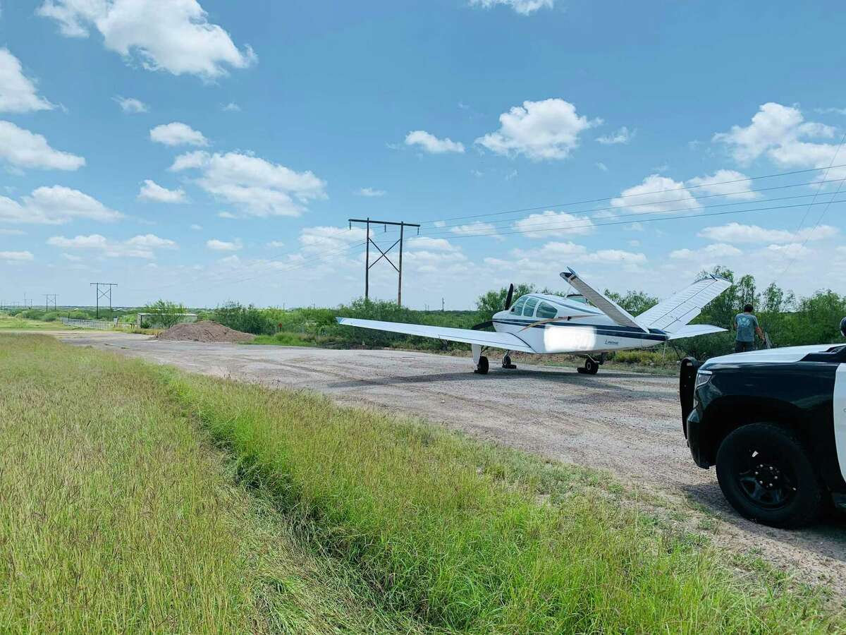 This small private plane had an emergency landing on U.S. 59, east of Laredo, according to the Texas Department of Public Safety. No one was harmed.