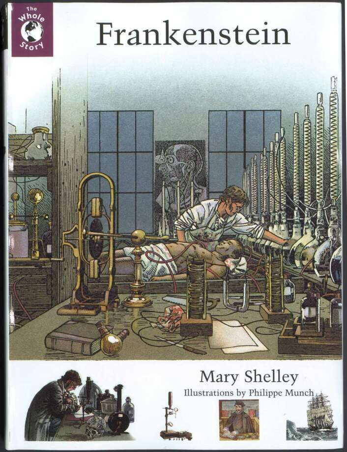 Frankenstein by Mary Shelley with Illustrations by Phillipe Munch Photo: Viking / Handout