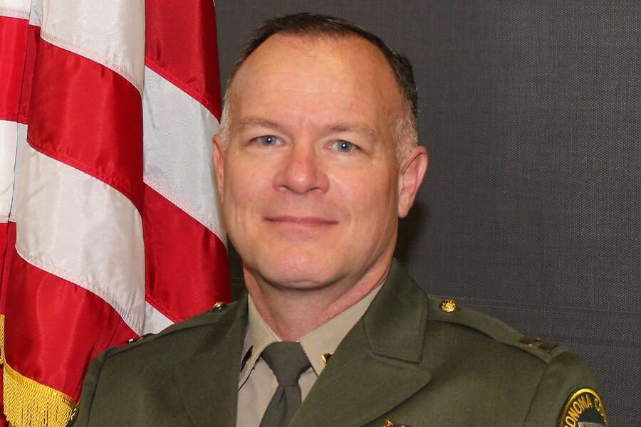 "Sonoma County Sheriff Mark Essick: ""As your elected Sheriff, I can no longer in good conscience continue to enforce Sonoma County Public Health Orders, without explanation, that criminalize otherwise lawful business and personal behavior."" Photo: Sonoma County Sheriff's Office"